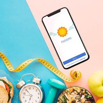 an overview of the Noom diet app